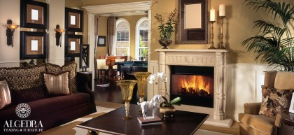 A Romantic Fireplace for Your Home
