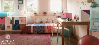 New Ways to Bring Spring Vibes to Your Daughter's Bedroom