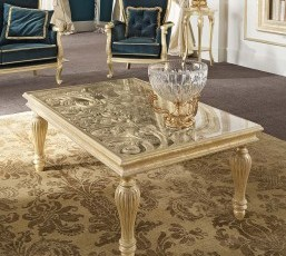 Gold Center Table