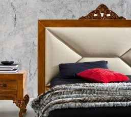 Minimal Baroque Bed