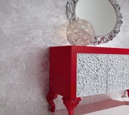 Italian Mirrored Furniture