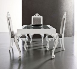 Baroque Table and Chairs