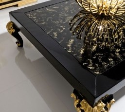 Minimal Baroque Center Table