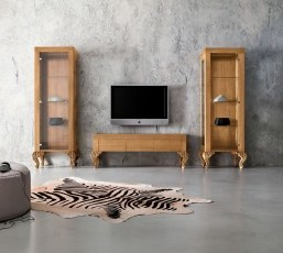 Baroque Style TV Stand