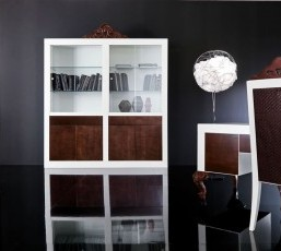 Minimal Baroque Office Cabinets