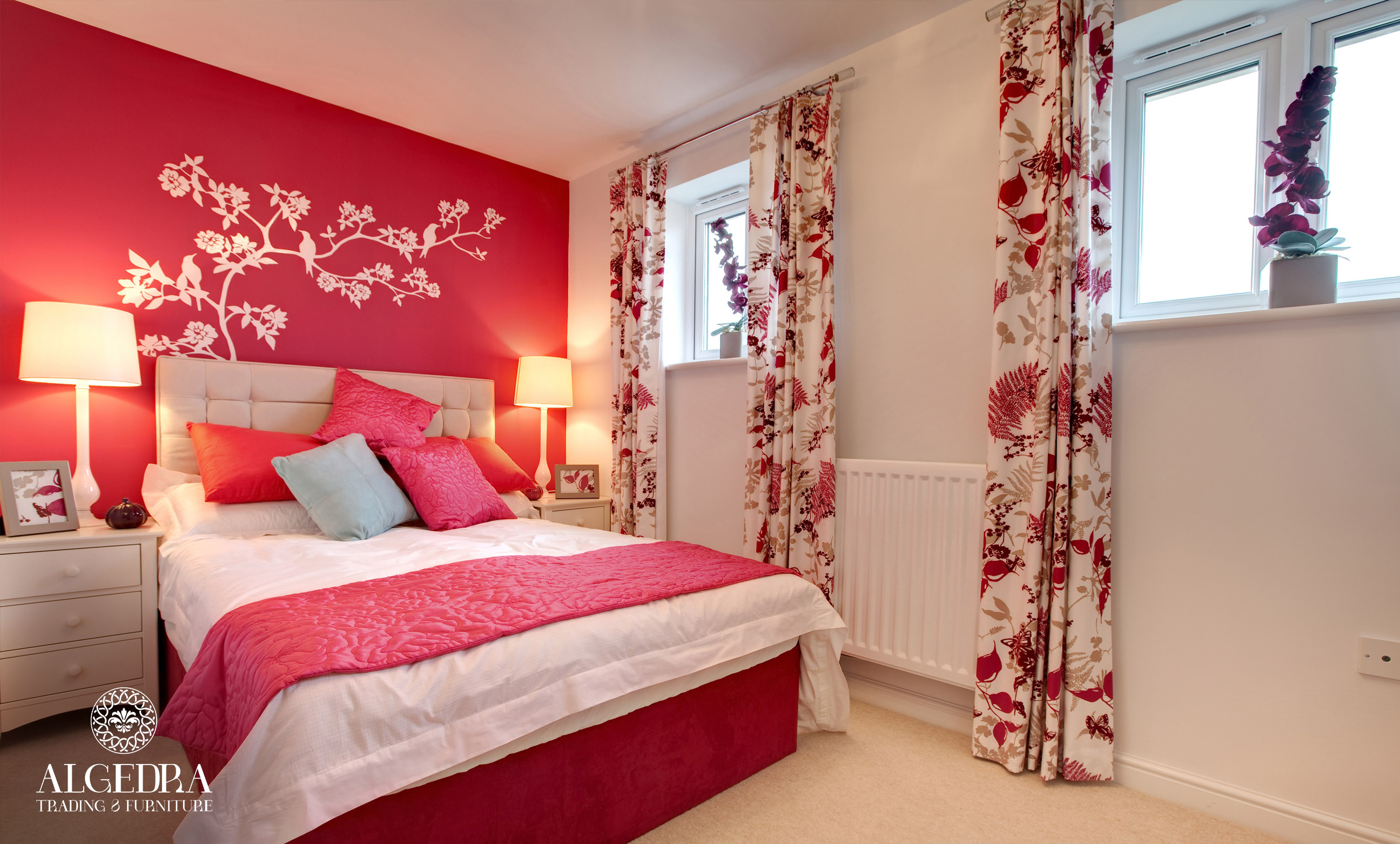 red style bedroom furniture