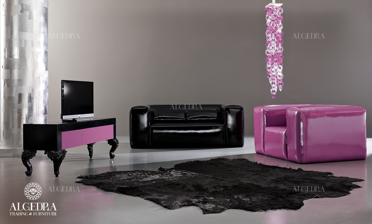 Modern decor furniture with light-colors