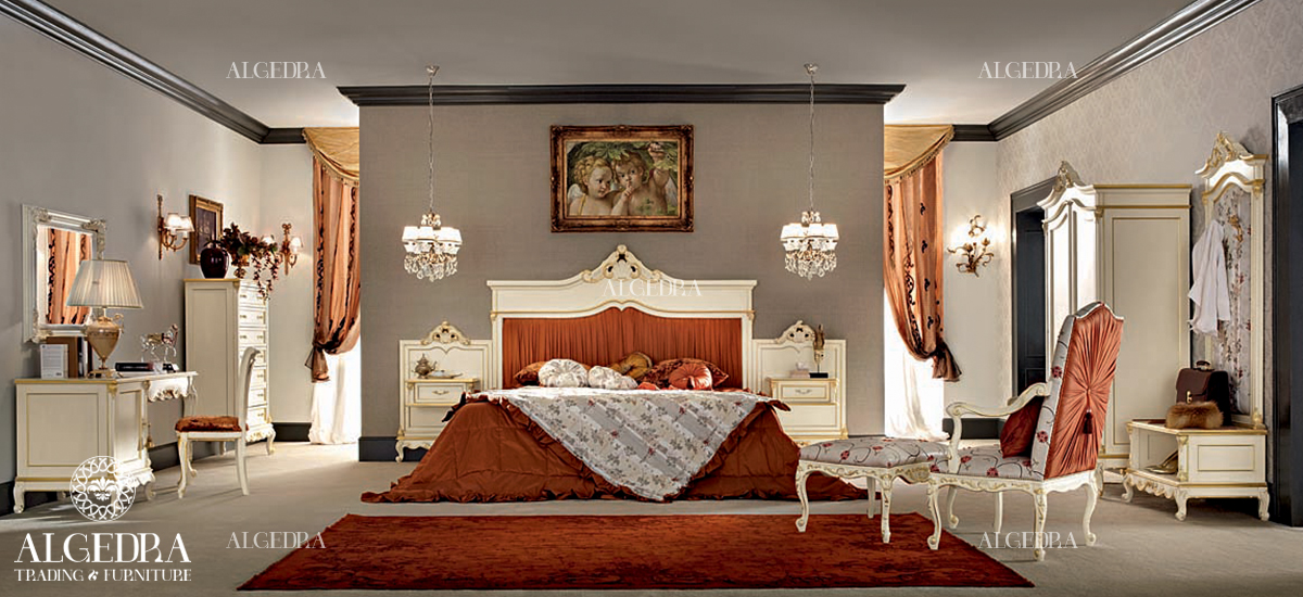 Classic traditional bedroom design