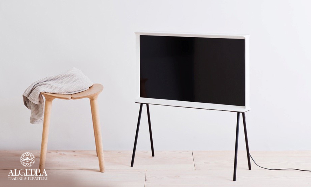 Furniture design with television screens