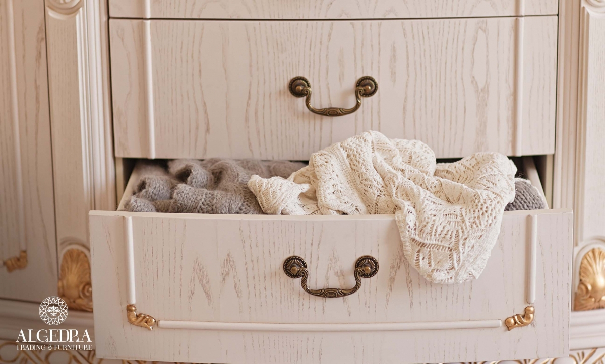 cabinets and drawers for guest rooms