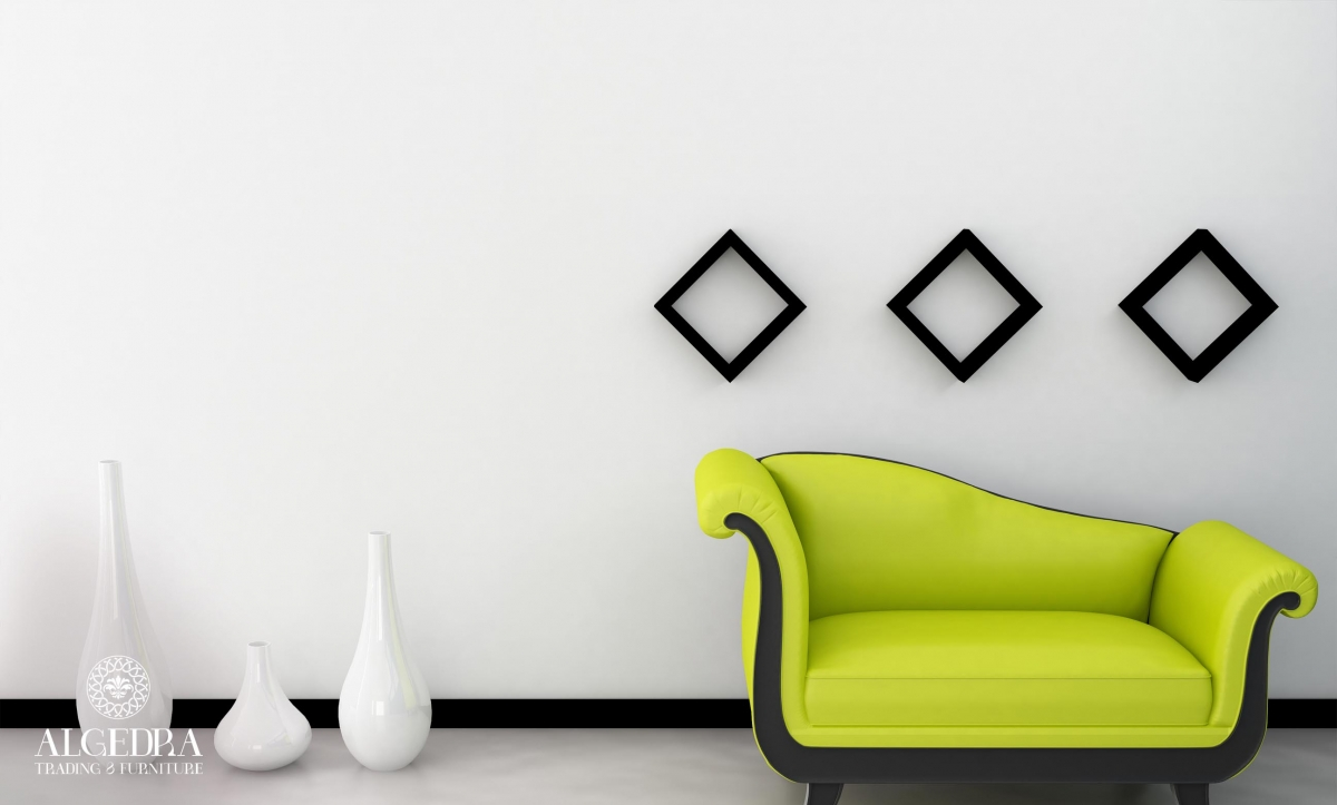 Yellow-Green Couch